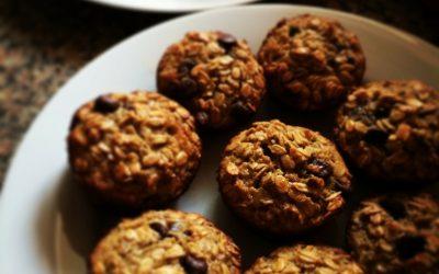 Dietetyczne ciasteczka owsiane bez cukru