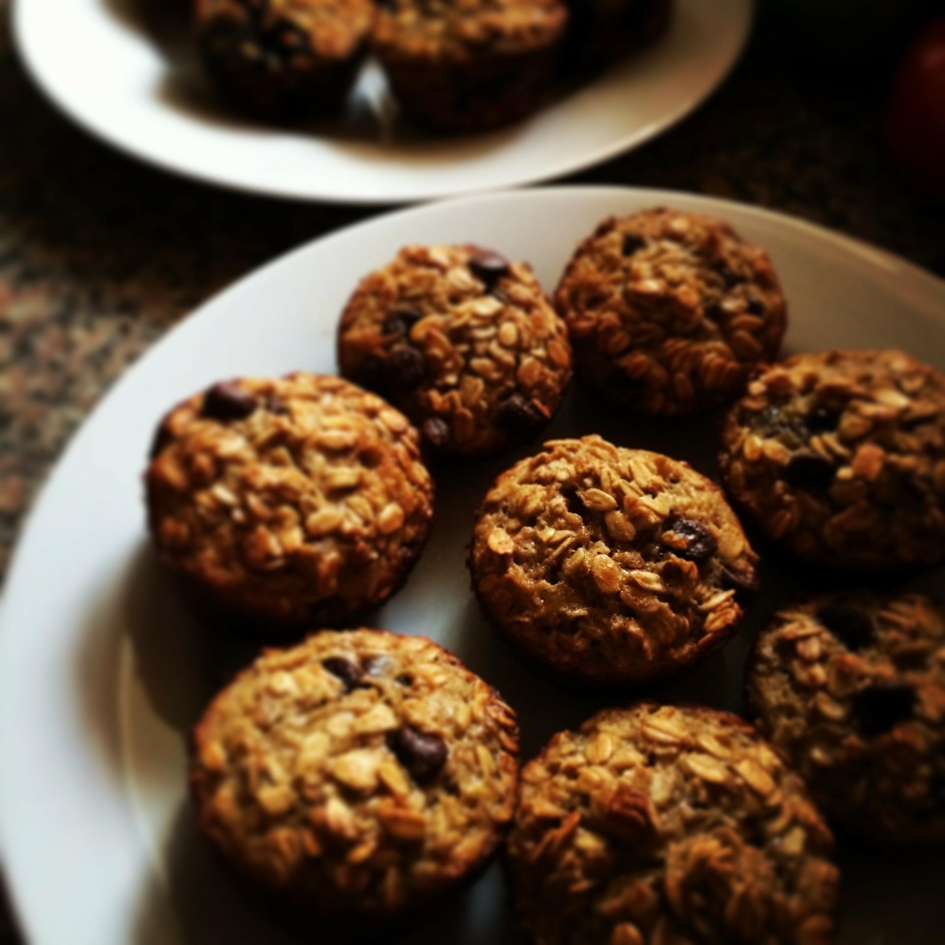 Dietyczne ciasteczka owsiane bez cukru