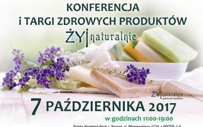 Konferencja i targi zdrowych produktów w Poznaniu