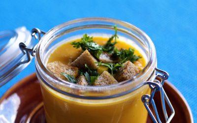 Zupa-krem dyniowo-imbirowa