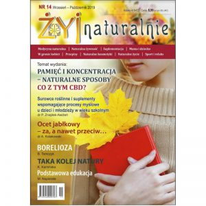 """Czasopismo """"Żyj Naturalnie"""" Wrzesień Październik 2019 numer 14"""