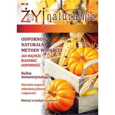 Żyj Naturalnie nr 20 wrzesień październik 2020