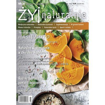"""Czasopismo """"Żyj Naturalnie"""" wrzesień październik 2021 numer 26"""